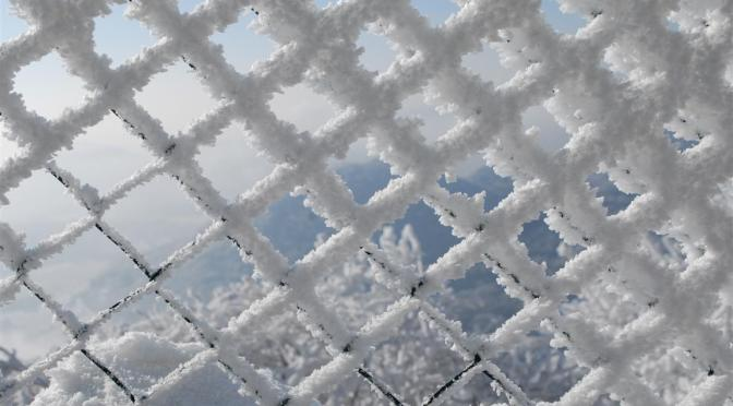 zimowa Milešovka i Lovoš