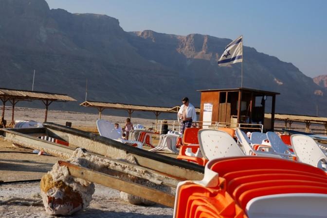 poza sezonem – Morze Martwe od strony Izraela
