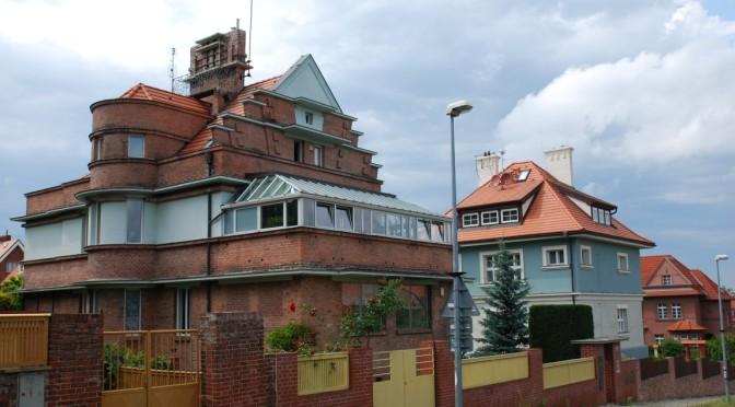 Czas na architekturę czyli willowa Praga. Część pierwsza: Orzechovka