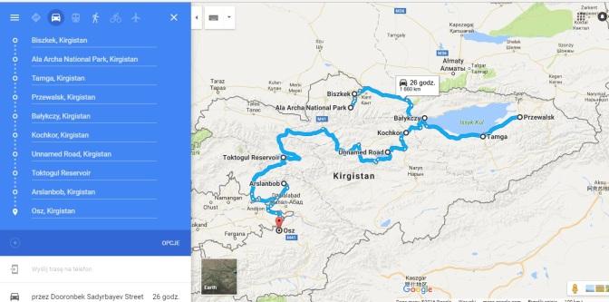 To najlepsze z Kirgistanu. Propozycja trasy zwiedzania