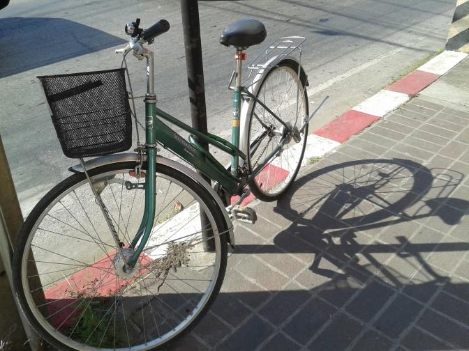 Jeśli nie umrę na rowerze w Tajlandii, będę żyła wiecznie (bo do Wietnamu się nie wybieram)