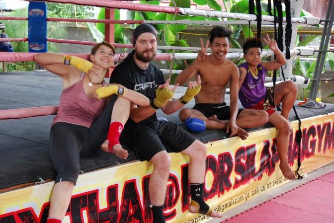 Boks tajski. Chiang Mai
