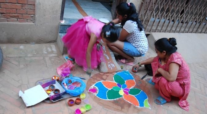 Święto Diwali w Nepalu